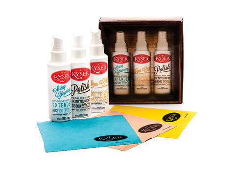 Kyser KCPK1 Instrument Care Pack (new)
