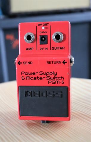 Boss PSM-5 Power Supply/Master Switch (käytetty, myyntitili)