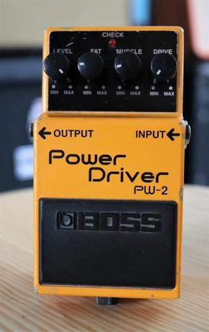 Boss PW-2 Power Driver (käytetty, myyntitili)