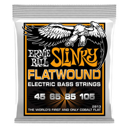 Ernie Ball EB-2813 Flatwound Hybrid Slinky 45-105 (new)