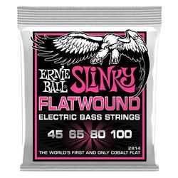 Ernie Ball EB-2814 Flatwound Super Slinky 45-100 (new)