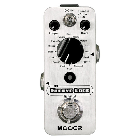 Mooer Groove Loop Effects Pedal (new)