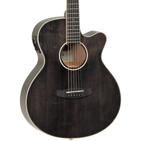 Tanglewood TW4 E Black Shadow Acoustic-Electric (new)