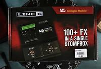 Line6 M5 Stompbox (käytetty, myyntitili)