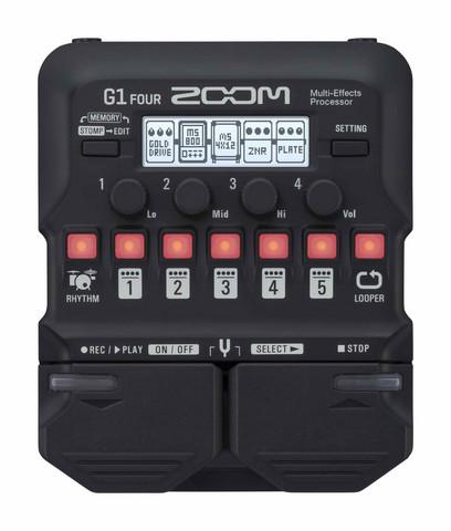 Zoom G1 Four Multiefekti (uusi)