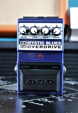 DOD FX102 Mystic Blues Overdrive (käytetty)