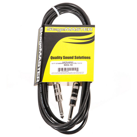 ProCo SEG-10 StageMASTER Instrument Cable 3m (new)