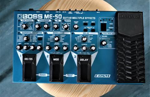 Boss ME-50 multiefekti (VARATTUNA)