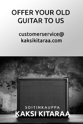 Offer your old guitar to us
