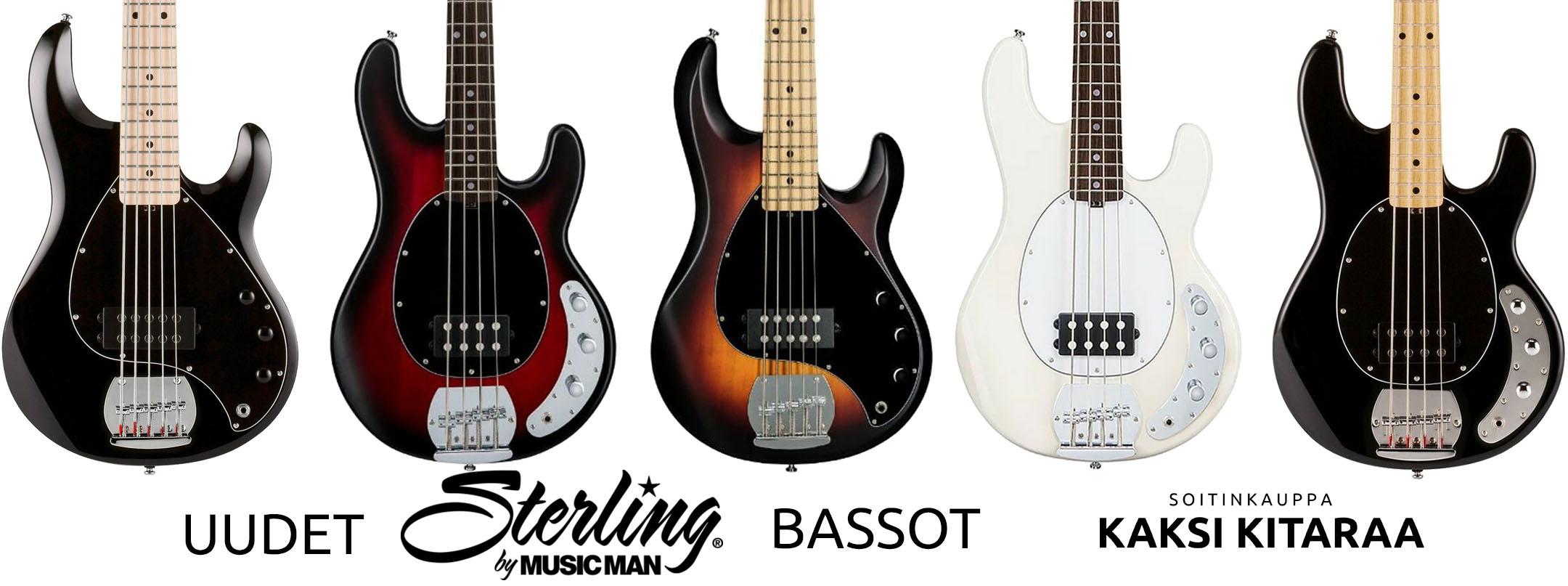 Sterlingin bassot.
