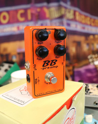 Xotic BB Preamp booster/overdrive (käytetty)