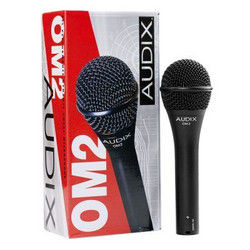 AUDIX OM2 Dynamic Vocal Microphone (new)