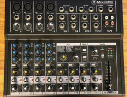 Mackie MIX12FX 12-channel Compact Mixer w/ FX (käytetty)