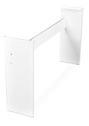 ARTESIA ST1 WH STAND, valkoinen pianoteline (uusi)