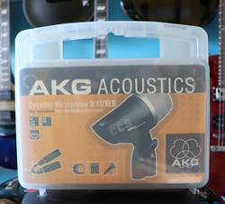 AKG ACOUSTIC D11/ XLR mic