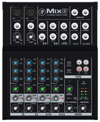 Mackie MIX8 8-channel Compact Mixer (uusi)
