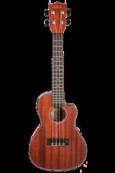 Kala Consert Cutaway w/ EQ Satin/ All Solid Mahogany (new)