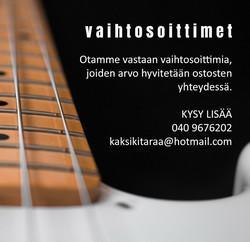 Gotoh SG360-07 kitaran virityskoneisto (uusi)