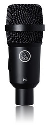 AKG P4 dynamic instrument microphone (uusi)