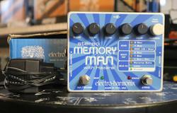 Electro-Harmonix Stereo Memory Man Hazarai (käytetty, myyntitili)