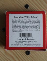 Lace Man O' War P-Bass Pickup set (käytetty)