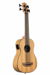 KALA UBASS Zebrawood Acoustic-Electric Fretted (uusi)