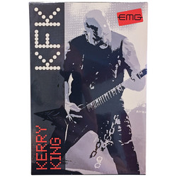 EMG Kerry King Set Black mikkisetti (uusi)