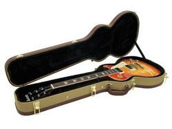 DIMAVERY kitaralaukku Les Paul Tweed (uusi)