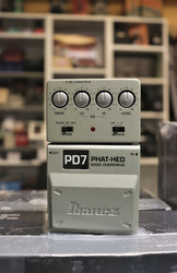 IBANEZ PD7 PHAT-HED bass overdrive (used)