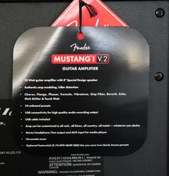 Fender Mustang I V2 1x8