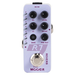 Mooer R7 Digital Reverb Efektipedaali (uusi)