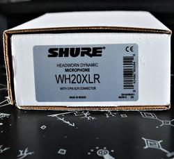 Shure WH20XLR Dynamic Neckband Microphone (used)