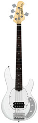 Sterling By Music Man RAY34 Short Scale, Olympic White (uusi)