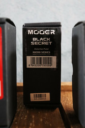 MOOER Black Secret distortion (käytetty, myyntitili)