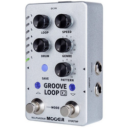 Mooer Groove Loop X2 Effects Pedal (new)