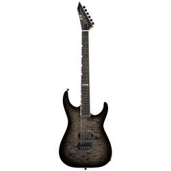 ESP E-II M-I Thru NT QM See Thru Black Sunburst (new)