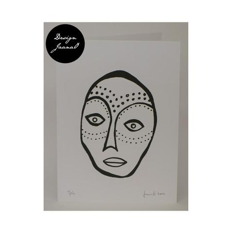Hiljaiset naiset - Taitettu kortti - Miete1