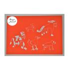Eläinjengi - kortti - punainen
