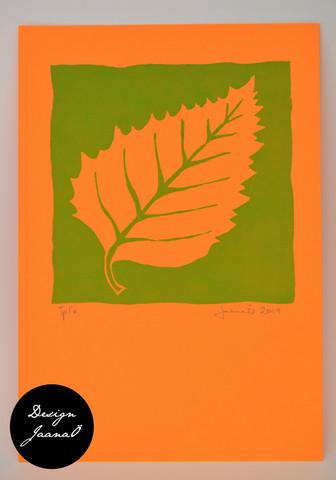 Lehti - kortti - vihreä B