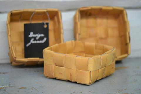 Suorapunontainen pikkukoppa 1 (4x4 nauhaa)