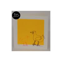 Kanat - taitettu kortti - keltainen2