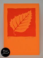 Lehti - kortti - punainen B