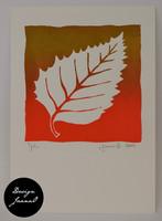 Lehti - kortti - punavihreä A