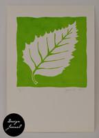 Lehti - kortti - vihreä A