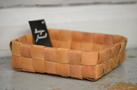 Suorapunontainen iso koppa 1 (7x7 nauhaa)