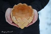 Pykäreunainen pikkukuppi (6x6 nauhaa)