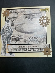 Handmade card Life Is Journey
