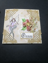Kortti keiju ja kukat