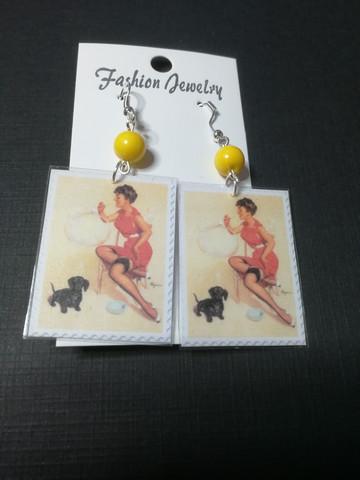pinup earrings