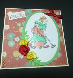 Kortti äidille siivous